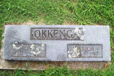 OKKENGA, HINRICH - Benton County, Arkansas | HINRICH OKKENGA - Arkansas Gravestone Photos