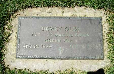 OLDS (VETERAN WWI), DEWEY - Benton County, Arkansas | DEWEY OLDS (VETERAN WWI) - Arkansas Gravestone Photos