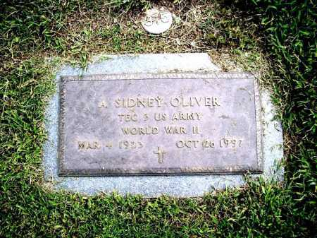OLIVER (VETERAN WWII), A. SIDNEY - Benton County, Arkansas | A. SIDNEY OLIVER (VETERAN WWII) - Arkansas Gravestone Photos