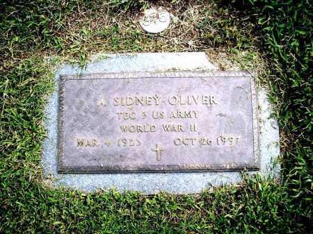 OLIVER (VETERAN WWII), A. SIDNEY - Benton County, Arkansas | A. SIDNEY OLIVER (VETERAN WWII) - Arkansas Gravestone Photos