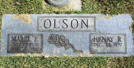 OLSON, MABEL E. - Benton County, Arkansas | MABEL E. OLSON - Arkansas Gravestone Photos