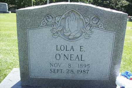 O'NEAL, LOLA E. - Benton County, Arkansas | LOLA E. O'NEAL - Arkansas Gravestone Photos
