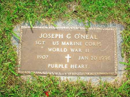 O'NEAL (VETERAN WWII), JOSEPH G. - Benton County, Arkansas | JOSEPH G. O'NEAL (VETERAN WWII) - Arkansas Gravestone Photos