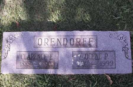 ORENDORFF, IMOGENE P. - Benton County, Arkansas | IMOGENE P. ORENDORFF - Arkansas Gravestone Photos