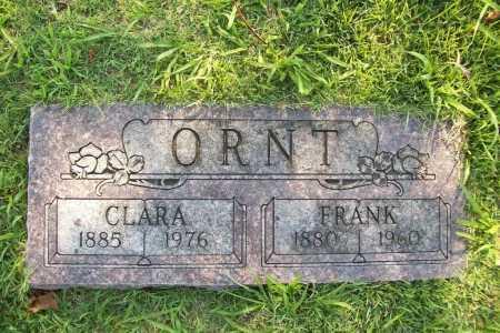 ORNT, FRANK - Benton County, Arkansas | FRANK ORNT - Arkansas Gravestone Photos