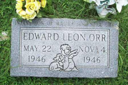 ORR, EDWARD LEON - Benton County, Arkansas | EDWARD LEON ORR - Arkansas Gravestone Photos