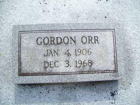 ORR, GORDON - Benton County, Arkansas   GORDON ORR - Arkansas Gravestone Photos