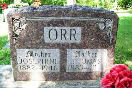 ORR, JOSEPHINE - Benton County, Arkansas | JOSEPHINE ORR - Arkansas Gravestone Photos
