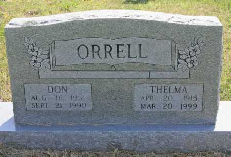 SNODERLY ORRELL, THELMA - Benton County, Arkansas | THELMA SNODERLY ORRELL - Arkansas Gravestone Photos