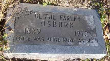 OSBORN, BESSIE - Benton County, Arkansas | BESSIE OSBORN - Arkansas Gravestone Photos