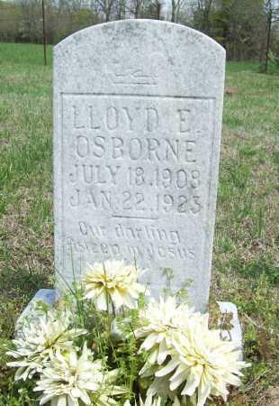 OSBORNE, LLOYD ELDON - Benton County, Arkansas | LLOYD ELDON OSBORNE - Arkansas Gravestone Photos