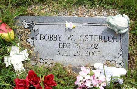 OSTERLOH, BOBBY W. - Benton County, Arkansas | BOBBY W. OSTERLOH - Arkansas Gravestone Photos