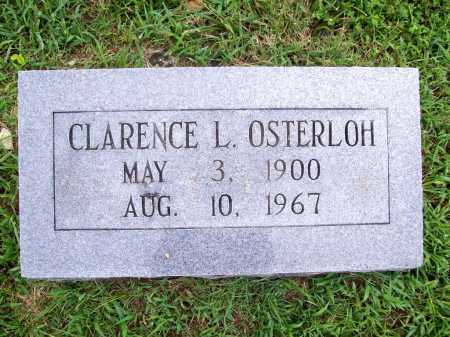 OSTERLOH, CLARENCE L. - Benton County, Arkansas | CLARENCE L. OSTERLOH - Arkansas Gravestone Photos