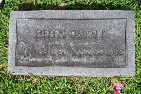 OSWALT, HELEN - Benton County, Arkansas | HELEN OSWALT - Arkansas Gravestone Photos