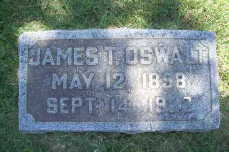 OSWALT, JAMES T. - Benton County, Arkansas | JAMES T. OSWALT - Arkansas Gravestone Photos