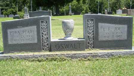 OSWALT, LORA PEARL - Benton County, Arkansas | LORA PEARL OSWALT - Arkansas Gravestone Photos