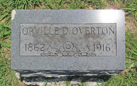 OVERTON, ORVILLE D - Benton County, Arkansas | ORVILLE D OVERTON - Arkansas Gravestone Photos