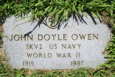 OWEN (VETERAN WWII), JOHN DOYLE - Benton County, Arkansas | JOHN DOYLE OWEN (VETERAN WWII) - Arkansas Gravestone Photos