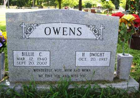 OWENS, BILLIE C. - Benton County, Arkansas | BILLIE C. OWENS - Arkansas Gravestone Photos