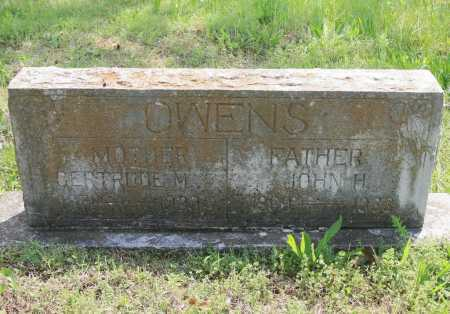OWENS, JOHN H. - Benton County, Arkansas | JOHN H. OWENS - Arkansas Gravestone Photos