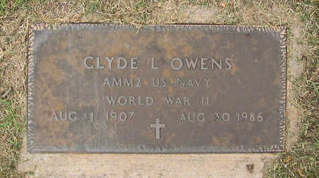 OWENS (VETERAN WWII), CLYDE L - Benton County, Arkansas | CLYDE L OWENS (VETERAN WWII) - Arkansas Gravestone Photos