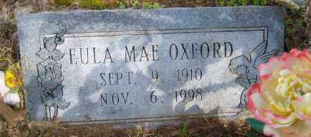 OXFORD, EULA MAE - Benton County, Arkansas | EULA MAE OXFORD - Arkansas Gravestone Photos