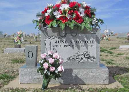 OXFORD, JUNE S - Benton County, Arkansas | JUNE S OXFORD - Arkansas Gravestone Photos