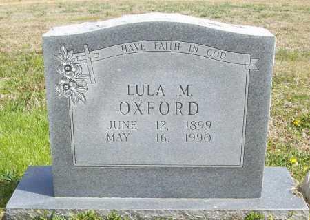 OXFORD, LULA M. - Benton County, Arkansas | LULA M. OXFORD - Arkansas Gravestone Photos