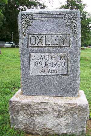 OXLEY, CLAUDE M. - Benton County, Arkansas | CLAUDE M. OXLEY - Arkansas Gravestone Photos
