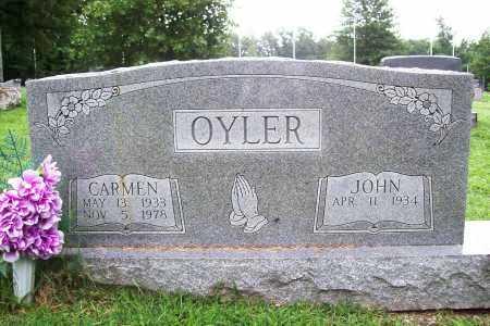 OYLER, CARMEN - Benton County, Arkansas | CARMEN OYLER - Arkansas Gravestone Photos