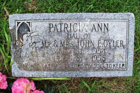 OYLER, PATRICIA ANN - Benton County, Arkansas | PATRICIA ANN OYLER - Arkansas Gravestone Photos