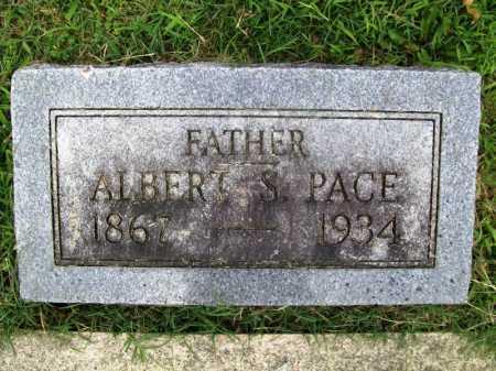 PACE, ALBERT S. - Benton County, Arkansas | ALBERT S. PACE - Arkansas Gravestone Photos