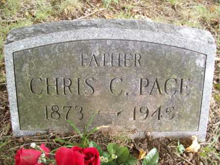 PACE, CHRIS C. - Benton County, Arkansas | CHRIS C. PACE - Arkansas Gravestone Photos