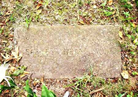 PACE, EARNEST DEAN - Benton County, Arkansas | EARNEST DEAN PACE - Arkansas Gravestone Photos