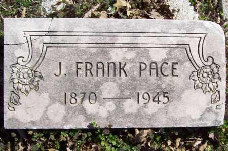 PACE, J. FRANK - Benton County, Arkansas | J. FRANK PACE - Arkansas Gravestone Photos