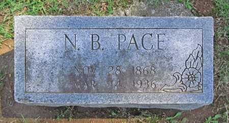 PACE, NEWTON B - Benton County, Arkansas | NEWTON B PACE - Arkansas Gravestone Photos