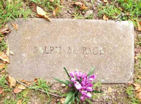 PACE, RALPH M. - Benton County, Arkansas | RALPH M. PACE - Arkansas Gravestone Photos