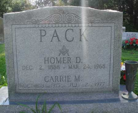 PACK, CARRIE MAE - Benton County, Arkansas | CARRIE MAE PACK - Arkansas Gravestone Photos