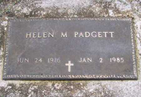 PADGETT, HELEN M. - Benton County, Arkansas | HELEN M. PADGETT - Arkansas Gravestone Photos