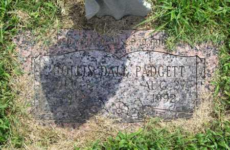 PADGETT, HOLLIS DALE - Benton County, Arkansas | HOLLIS DALE PADGETT - Arkansas Gravestone Photos