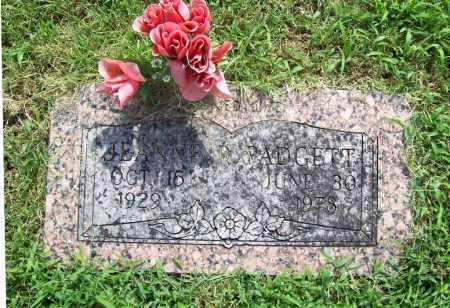 PADGETT, JEANNE R. - Benton County, Arkansas | JEANNE R. PADGETT - Arkansas Gravestone Photos