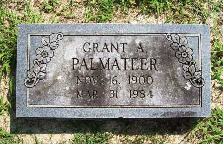 PALMATEER, GRANT A. - Benton County, Arkansas | GRANT A. PALMATEER - Arkansas Gravestone Photos