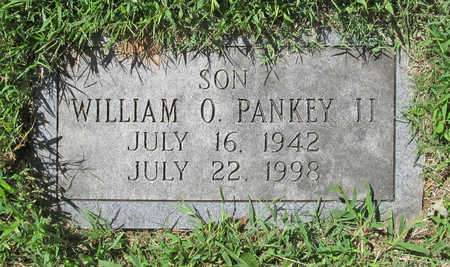 PANKEY, WILLIAM O II - Benton County, Arkansas | WILLIAM O II PANKEY - Arkansas Gravestone Photos
