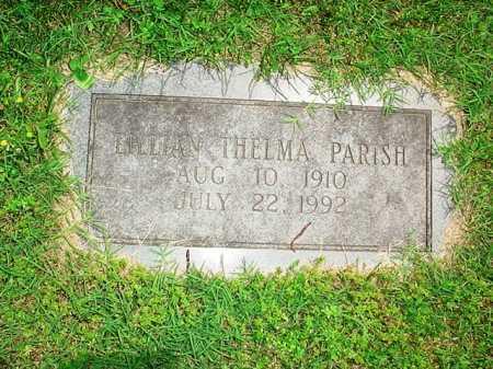 PARISH, LILLIAN THELMA - Benton County, Arkansas | LILLIAN THELMA PARISH - Arkansas Gravestone Photos