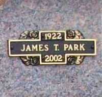 PARK, JAMES T. - Benton County, Arkansas | JAMES T. PARK - Arkansas Gravestone Photos