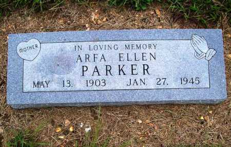 PARKER, ARFA ELLEN - Benton County, Arkansas | ARFA ELLEN PARKER - Arkansas Gravestone Photos