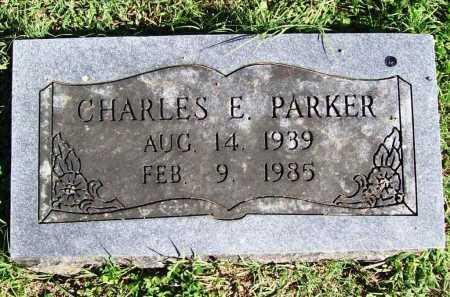 PARKER, CHARLES EUGENE - Benton County, Arkansas | CHARLES EUGENE PARKER - Arkansas Gravestone Photos