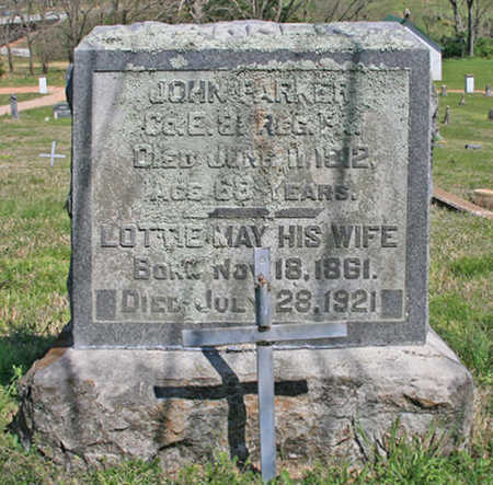 STOUT PARKER, LOTTIE MAY - Benton County, Arkansas | LOTTIE MAY STOUT PARKER - Arkansas Gravestone Photos