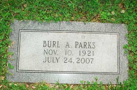 PARKS, BURL A. - Benton County, Arkansas | BURL A. PARKS - Arkansas Gravestone Photos
