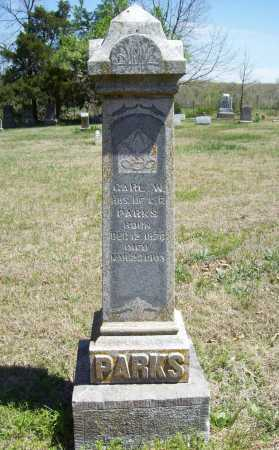 PARKS, CARL W. - Benton County, Arkansas | CARL W. PARKS - Arkansas Gravestone Photos